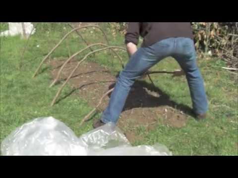 Bricoler Une Serre De Jardin Youtube