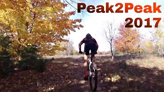 2017 Peak 2 Peak Mountain Bike Race