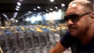 Tirirca é chamado de safado no aeroporto de Fortaleza