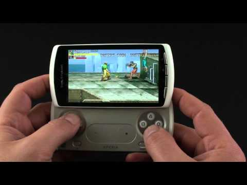 Sony Ericsson Xperia PLAY emulator gaming