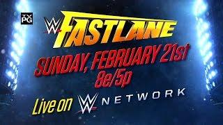 WWE FASTLANE '16 PPV : Full Show Part 1