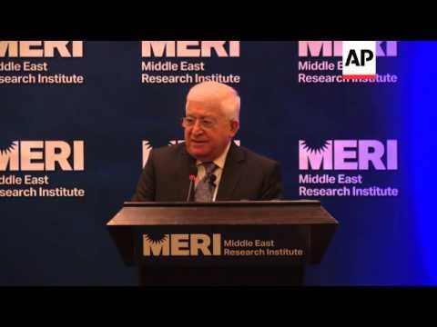 President Fouad Massoum calls on all Iraqis to unite to rebuild their nation