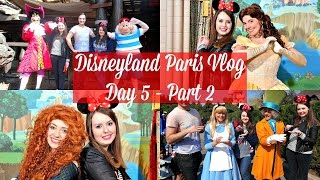 Disneyland Paris Vlog | Day 5 Part 2