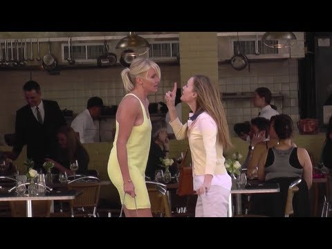 Catfight! Cameron Diaz and Leslie Mann Have a Spat on Set