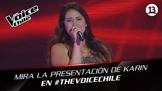 The Voice Chile | Karin Cáceres - Piece of my heart