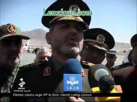 Iranian minister of defense Ahmad Vahidi in Afghanistan
