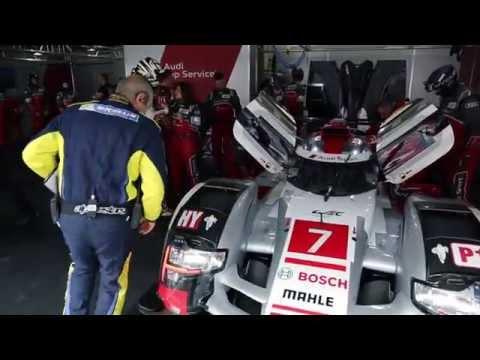 60 Seconds of Audi Sport 100-2015 - WEC Shanghai, Track vs. tyre   AutoMotoTV