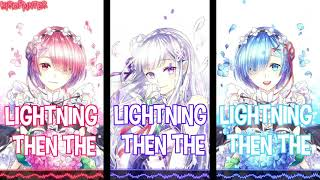 Nightcore - Thunder (Switching Vocals) | (Female Cover)