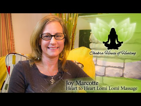 Joy Marcotte & Lomilomi Massage on The Chakra House of Healing Talkshow