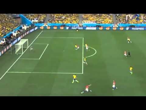 Brazil vs Croatia 0 1 Marcelo own goal World Cup 2014