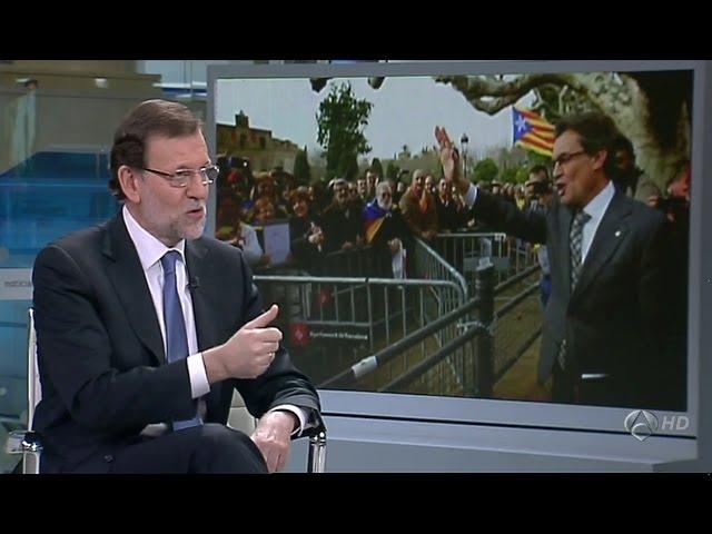 """Entrevista a Mariano Rajoy (2/11): """"No habrá independencia de Cataluña"""""""