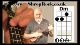 How To Play Really Easy Ukulele (4) Minor Chords by Chili Monster