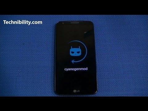 LG G2 running CM11 CyanogenMod Android KitKat 4.4.2 plus Installation