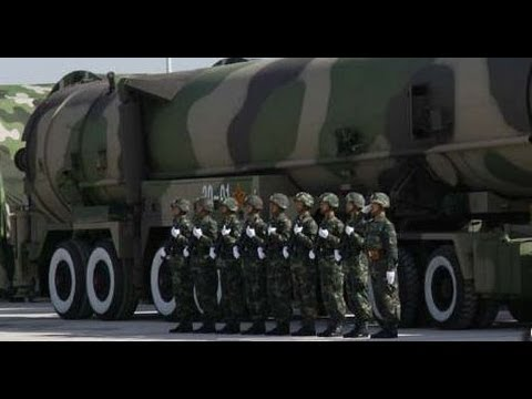 Express of China military intelligence test fired New Dongfeng 41 InterContinental Ballistic Missile