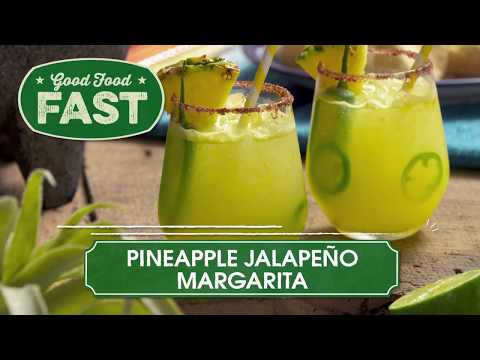 HSN| Good Food Fast: Pineapple Jalapeño Margarita