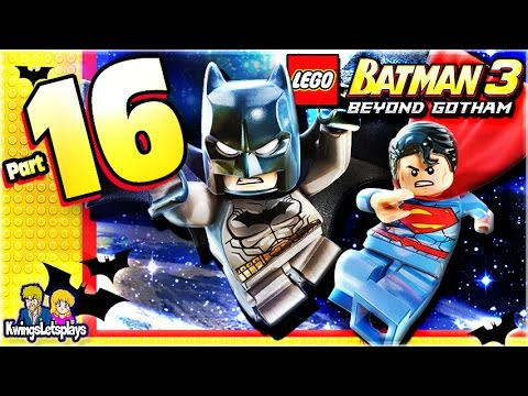 LEGO BATMAN 3 - Walkthrough Part 16 Aw-Qward Situation