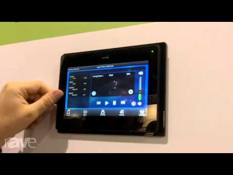 CEDIA 2013: Leviton Presents its LCD Touchpad Control