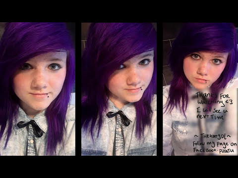 dying my hair purple directions