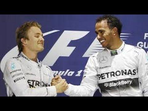 Nico Rosberg Hit Me On Purpose, Claims Lewis Hamilton