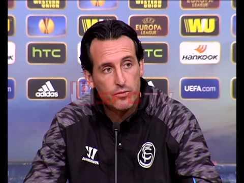 Rueda de prensa Unai Emery previa Sevilla FC-HNK Rijeka