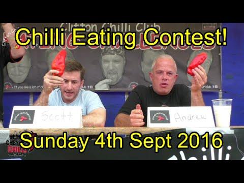 Chilli Eating Contest   Upton Cheyney Chili Festival   Sunday 4th Sept 2016