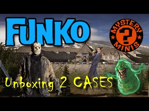 Entertainment Earth Haul & Unboxing :: Funko Horror Mystery Minis :: 2 CASES!!!