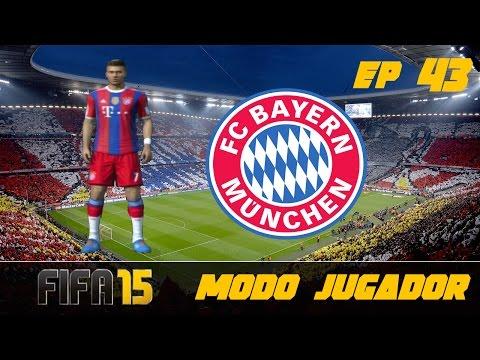 FIFA 15 Modo Carrera ''Jugador'' Bayern Munich - MANCHESTER CITY EP 43