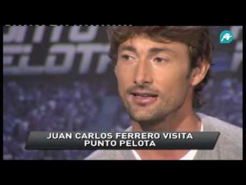 Juan Carlos Ferrero en Punto Pelota