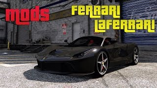GRAND THEFT AUTO V (GTA 5) MODS | FERRARI LAFERRARI | 5K PC GAMEPLAY | ThirtyIR.com