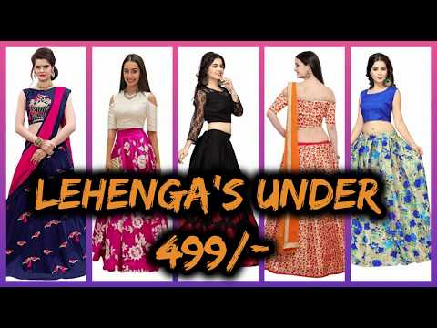 Amazon Lehenga Under 500 | Amazon Lehenga Shopping | Lehenga Designs Great Indian Sale Lehenga Choli
