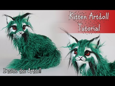 Linux the Marshwood Tree Cat - Artdoll Tutorial