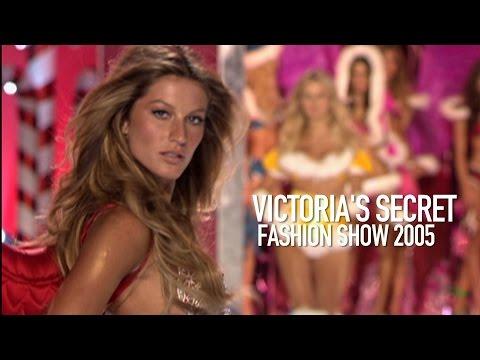 GISELE BÜNDCHEN Victoria's Secret Fashion Show 2005 Backstage    MODTV