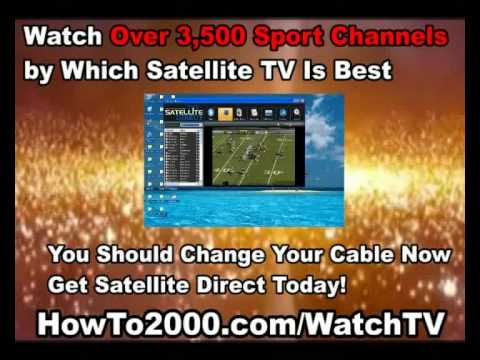 The Best Satellite TV for PC Software of 2011