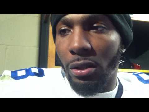 Dez Bryant speaks after the Cowboys' season-ending loss to Green Bay