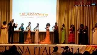 MISS GHANA ITALY 2014