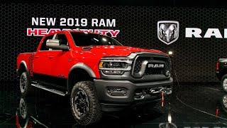 2019 Ram Heavy Duty 2500 and 3500 Pickup Truck Priced From $33,395