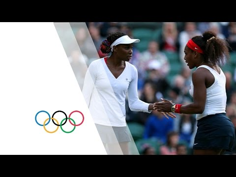 Venus & Serena Williams v Kirilenko & Petrova - Women's Tennis Semi | London 2012 Olympics