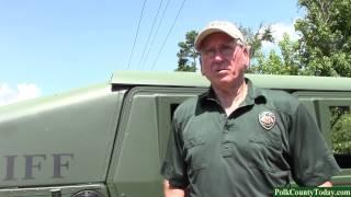 Large Marijuana Bust in South Polk County, Texas 08/06/14