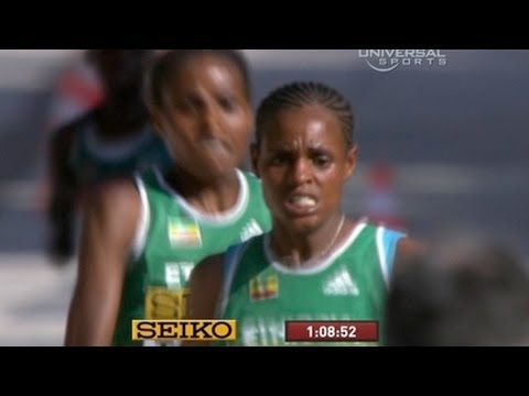 Ethiopian Meseret Hailu wins Half Marathon Championship at International Association of Athletics Fe