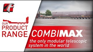 FAYMONVILLE CombiMAX: the only modular telescopic system in the world