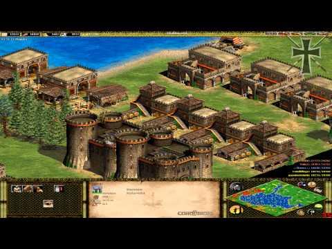 Age of Empires II - 64ª Partida Multijugador En Línea - Tulio y Fede