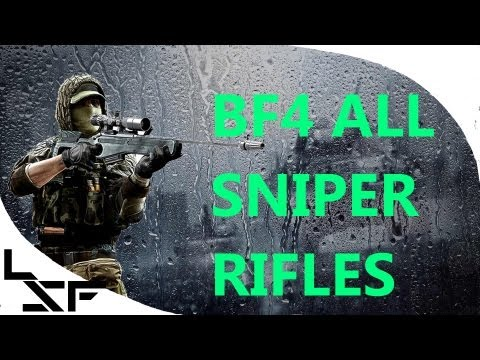 BF4 Recon Review (alpha) + All Sniper Rifles & Attachments and Scopes