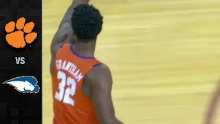 Clemson vs Hofstra Basketball Highlights (2017)