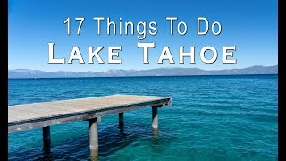 17 Things to Do in Lake Tahoe in the Summer