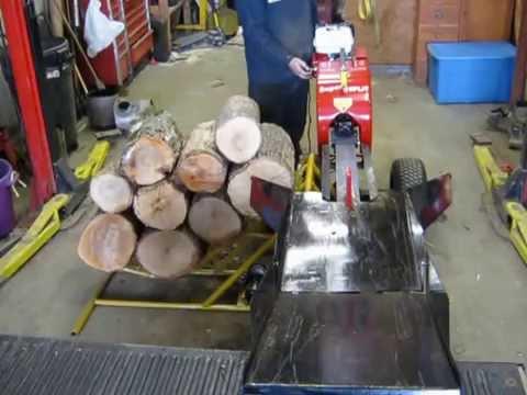 log lifter for super split wood splitter.