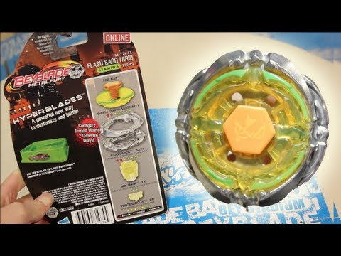 Flash Sagittario 230WD HYPERBLADE SPARK FX UNBOXING & REVIEW - (BB-126-FX) Beyblade Metal Fury