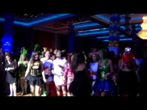 Academy Brass Band at Kiwanis Club of Palm Beach's Masquerade Party 2015