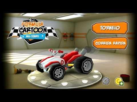 FÓRMULA CARTOON ALL STARS - Mais um ótimo jogo de corrida para Android - Android Zone Blog