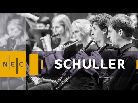 NEC Wind Ensemble - Gunther Schuller: From Here to There