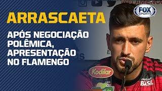 É OFICIAL! De Arrascaeta é apresentado oficialmente no Flamengo
